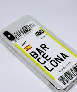 iphone xs max barcelona uçak bileti kılıf detaylı