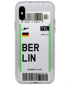 iphone xs max berlin bilet kılıf önden çekim