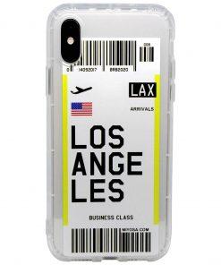 iphone xs max los angeles bilet kılıf önden çekim
