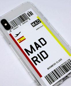 iphone xs max madrid uçak bileti kılıf detaylı