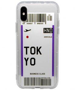 iphone xs max tokyo bilet kılıf önden çekim