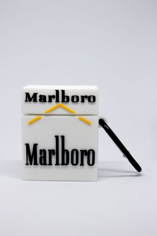 marlboro desenli silikon airpods kılıfı