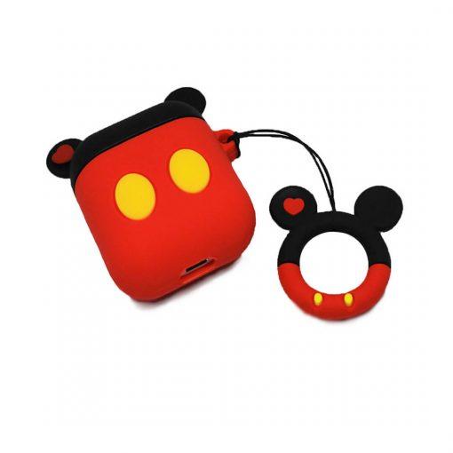 Mickey Mouse airpods kılıfı şarj bölmesi