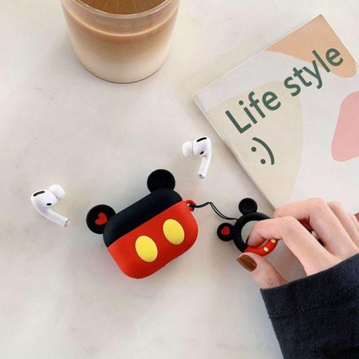 mickey mouse airpods pro koruma kabı