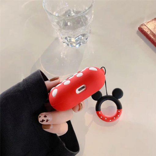 Minnie Mouse airpods pro kılıfı şarj bölmesi