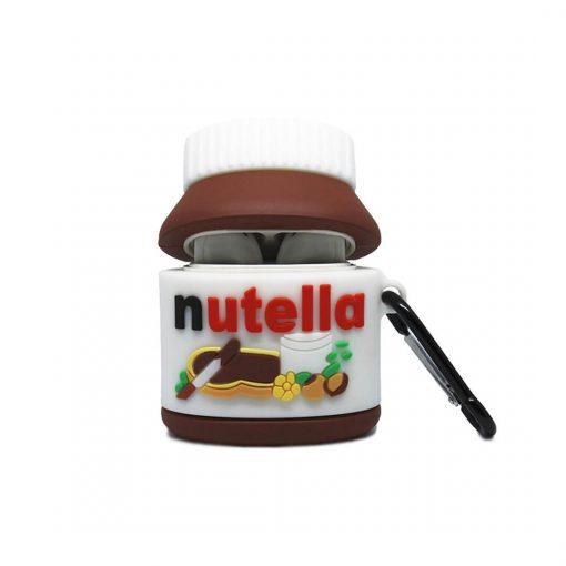 kapağı açık nutella desenli airpods kabı