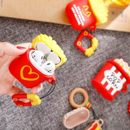 McDonalds Patates airpods koruma kabı