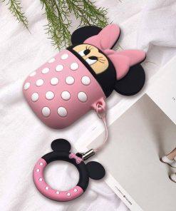 pembe minnie mouse airpods koruma kabı