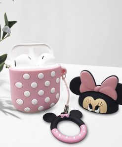 pembe minnie mouse airpods kabı