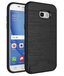 Samsung a5 2017 siyah renk standlı kılıf