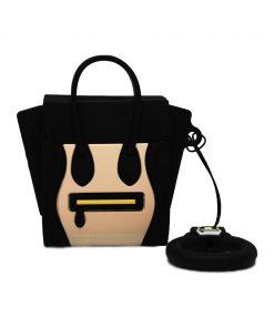 siyah çanta silikon airpods kılıfı